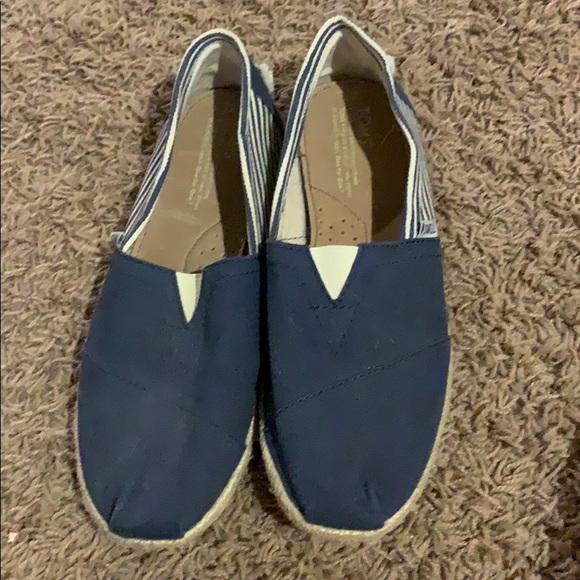 Toms Shoes   Womens Canvas   Poshmark